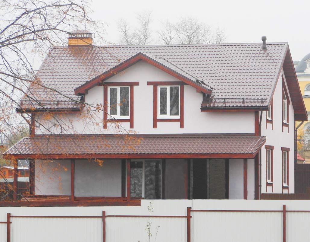 КП Дубровские зори, примеры домов